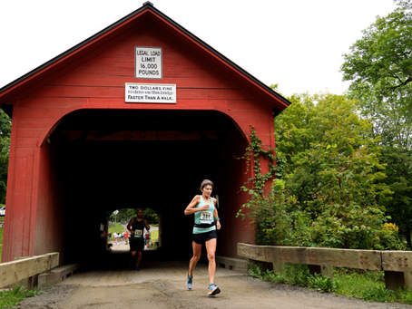 InsideOut client: Ann Domigan... Boston Marathon Qualified - off-road - in the Green Mountains!