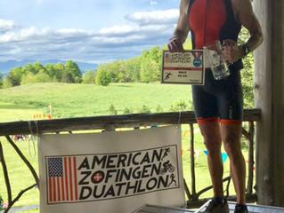 American Zofingen Duathlon - Steve Tomasi takes the win!