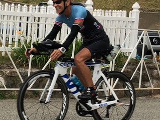 InsideOut client, Mary Wakeham dazzling at Ironman Lake Placid 2018