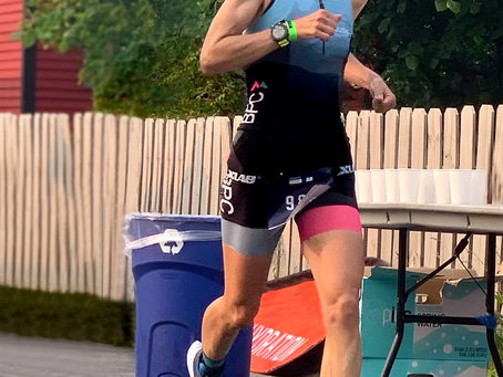 InsideOut client: Patty Kolias...True Grit coupled with a come-back kick! Ace racing at IMLP!