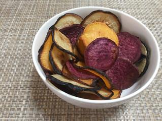 Rutabaga, Radish, Purple Sweet Potato, Chips