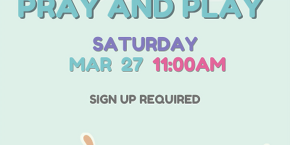 Easter Pray and Play for Children and Parents