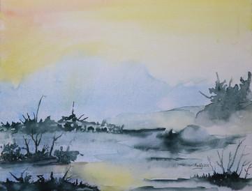 Watercolor 16 x 20
