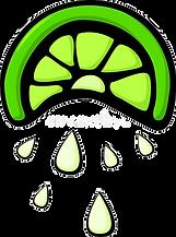 squeezed-lemon-slice-vector-illustration