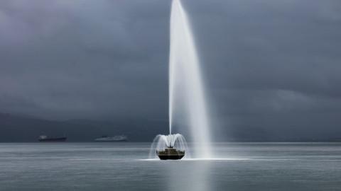 Oriental Bay Fountain