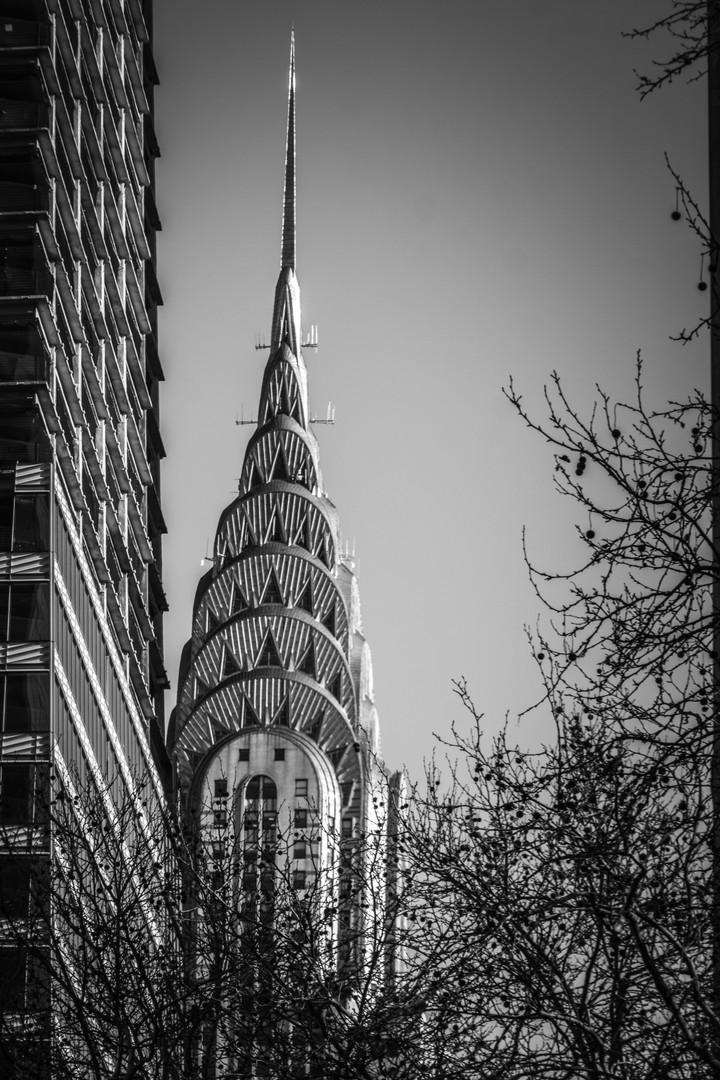 Chrysler Building in Winter