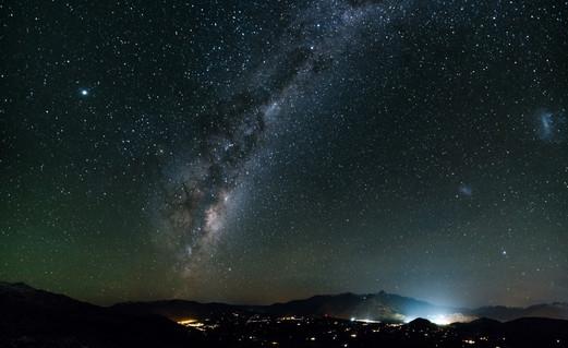 Night Sky above Coronet Peak, Quenstown, New Zealand