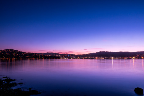Evening colour in Wellington