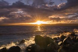 Sunset at Lake Taupo