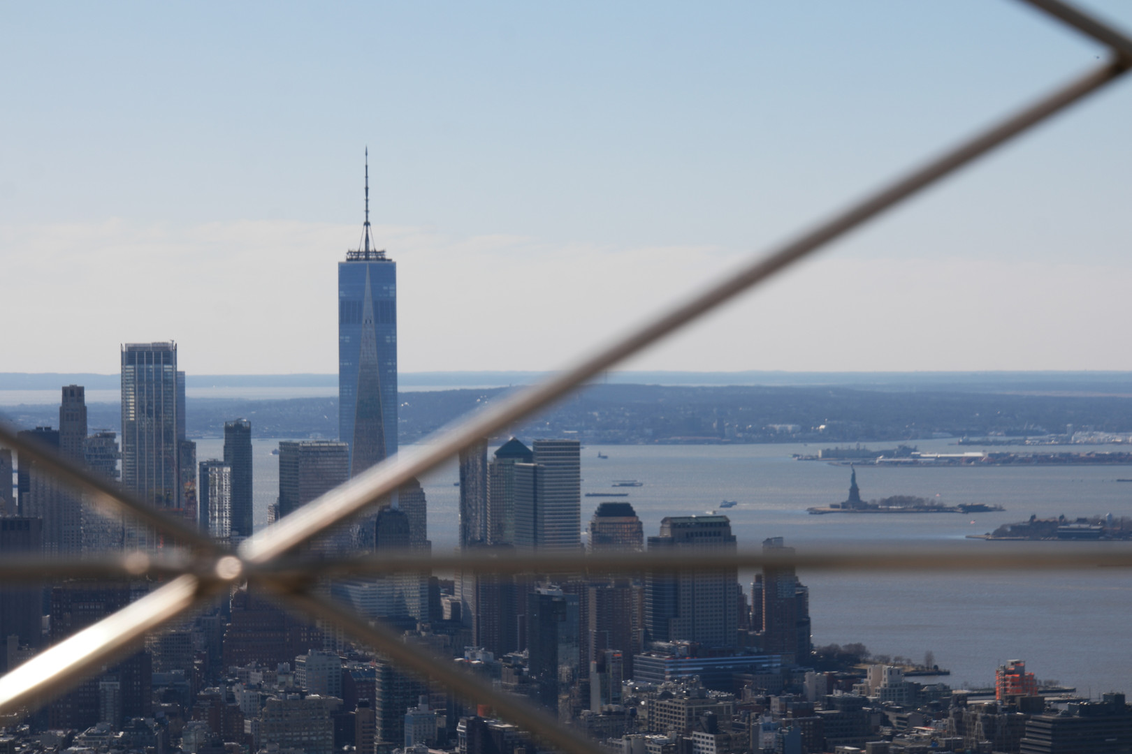 Freedom tower from Empire State