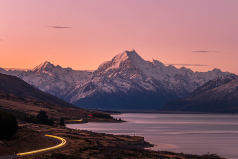 Mt Cook Sunset