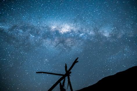 NIght Sky at Red Rocks,