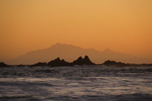 Kaikoura sunset