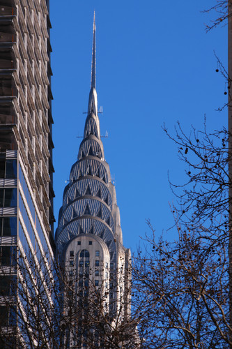 Chrysler Building in Winter