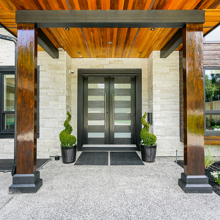 Grand Front Entrance