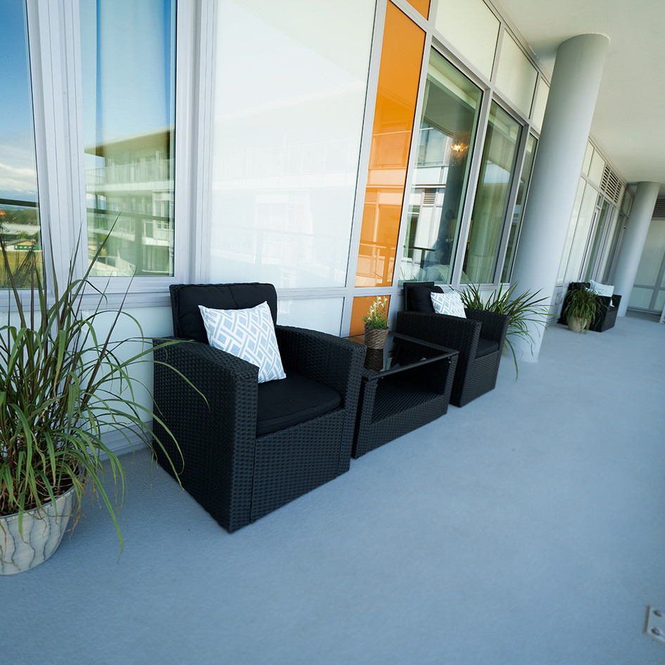 Outdoor Patio Lounging Area