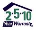 2 5 10 Year Warranty