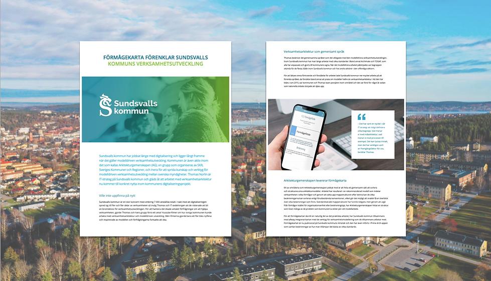 Förmågekarta hos Sundsvalls kommuns verksamhetsutveckling