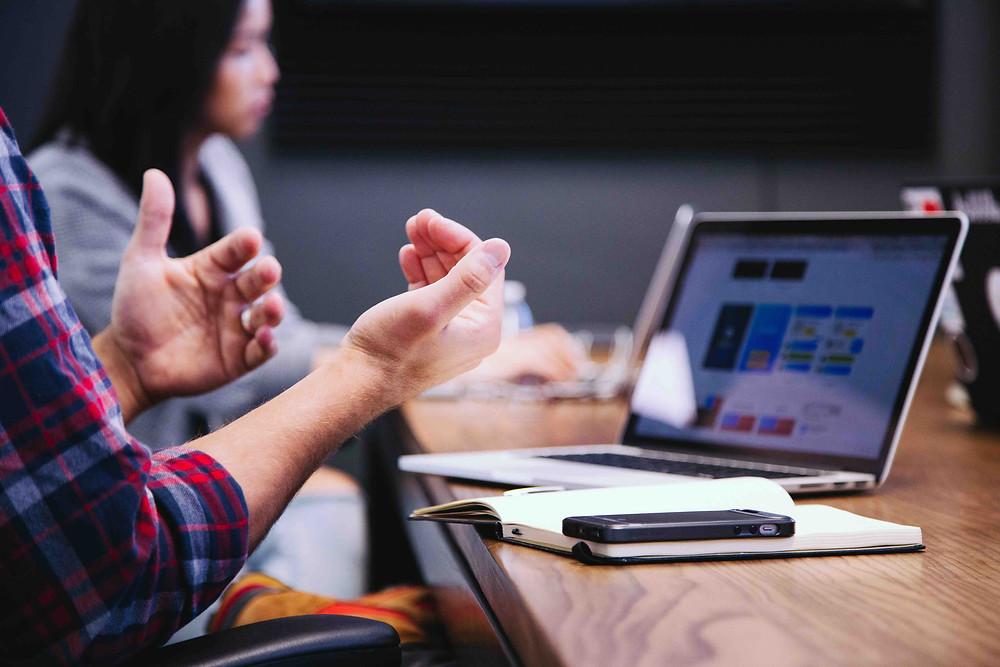 Möte om 7 steg till en lyckad verksamhetsarkitektur