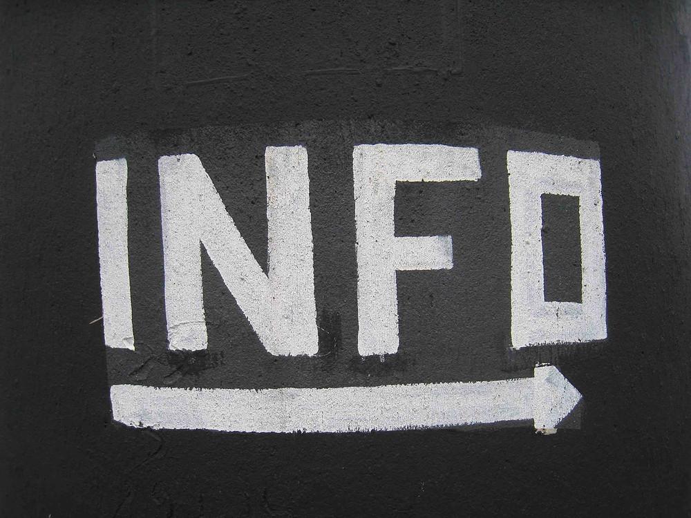 skillnaden mellan information och data