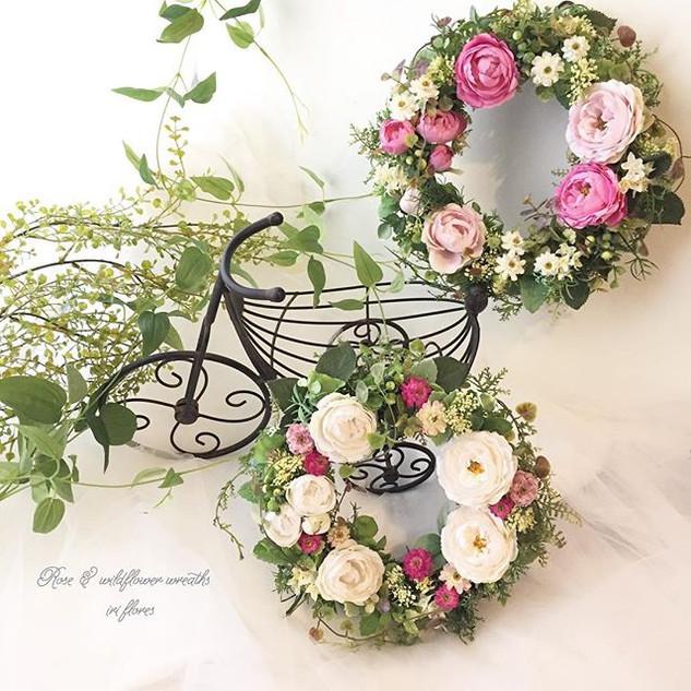 ・_・_Happy wedding!_Special wreaths for y