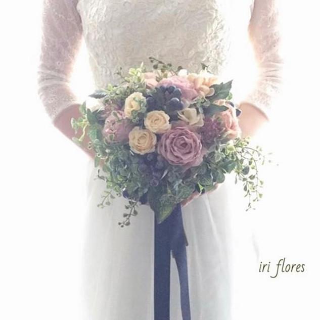 Antique color Bouquet_・_アンティークカラーブーケは、_ネ