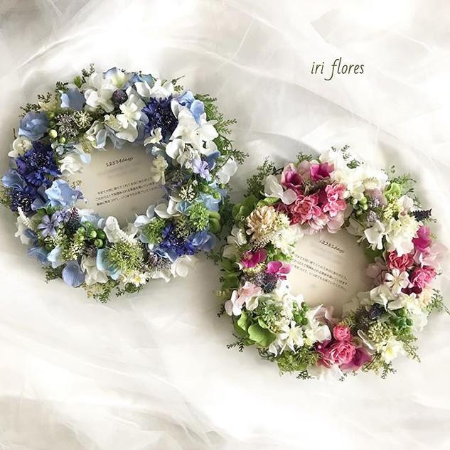 Happy wedding!_・_ハワイ挙式の贈呈品としてご依頼をいただいた、_