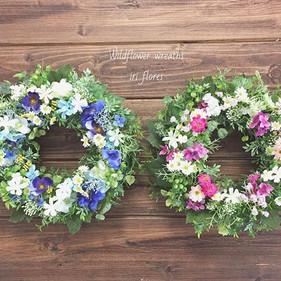 Happy wedding! Blue × Pink Wildflower wr