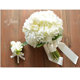 Happy wedding!!_・_アーティフィシャルフラワーの魅力の一つ。_そ