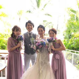 Bridesmade mini bouquet
