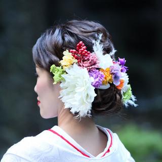 Headdress for Japanese wedding