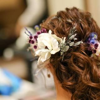 Anemone headdress