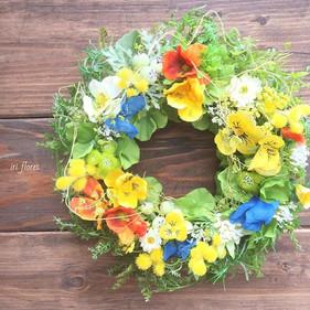 ・_Viola×Mimosa wreath.jpg