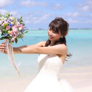 Pink×Blue bouquet