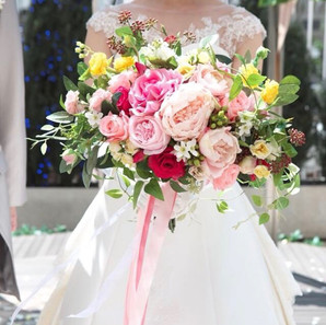 Peony×Rose Pink Bouquet