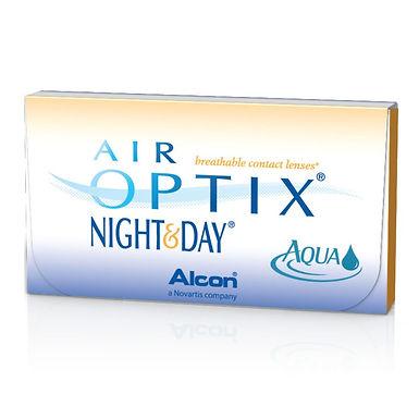 AIR OPTIX NIGHT& DAY AQUA Ежемесячные линзы