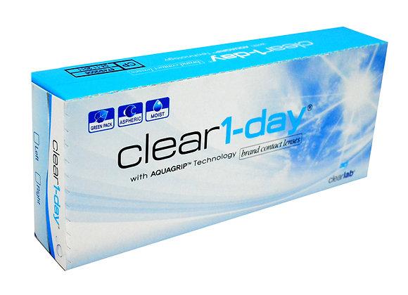 Однодневные контактные линзы Clear 1-day на фото