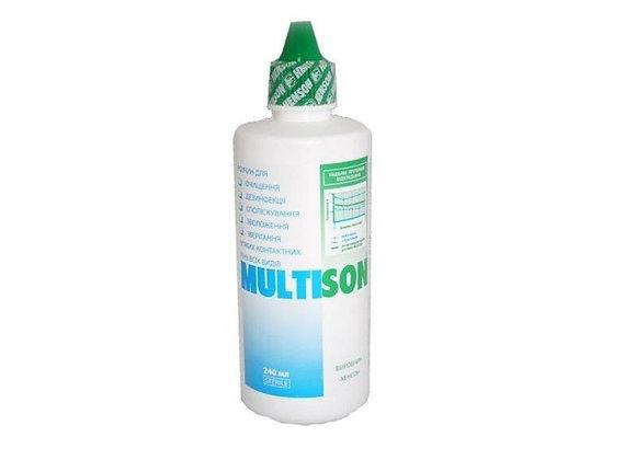 Раствор для линз MULTISON на фото