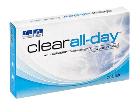 Ежемесячные Контактные линзы Clear All-day на фото