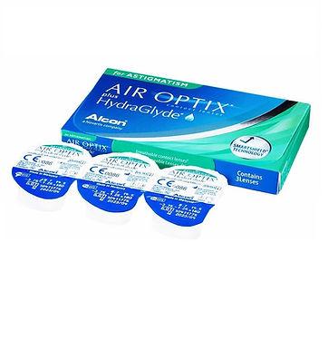 AIR OPTIX plus HydraGlyde for ASTIGMATISM Ежемесячные линзы