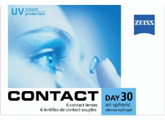 Ежемесячные Контактные линзы Zeiss Contact Day 30 Air на фото