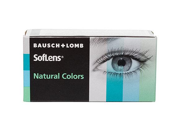 Цветные Контактные линзы SofLens Natural Colors на 3 месяца
