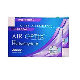 AIR OPTIX plus HydraGlyde MULTIFOCAL Ежемесячные Контактные линзы