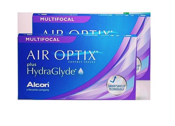 AIR OPTIX plus HydraGlyde MULTIFOCAL - Ежемесячные Контактные линзы на фото