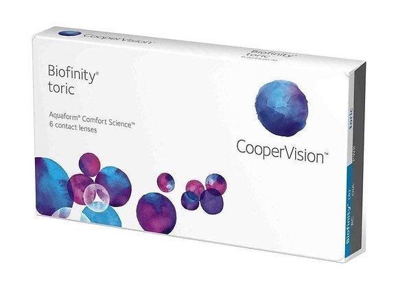 Ежемесячные Контактные линзы Biofinity toric на фото