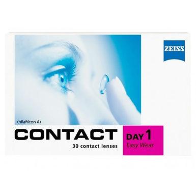 Однодневные Контактные линзы Zeiss Contact Day 1 Easy Wear