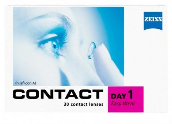 Контактные линзы Zeiss Contact Day 1 Easy Wear на фото