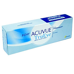 1-Day Acuvue TruEye Johnson&Johnson 2 упаковки