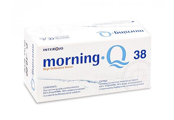Контактные линзы Morning Q 38 на 3 месяца