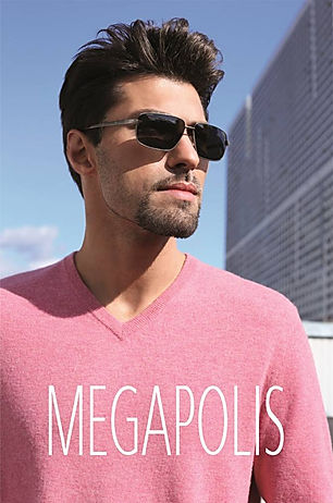Megapolis - фото очков на мужщине